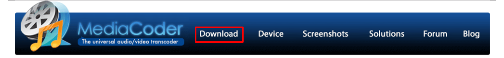 MediaCoder 的官方網站
