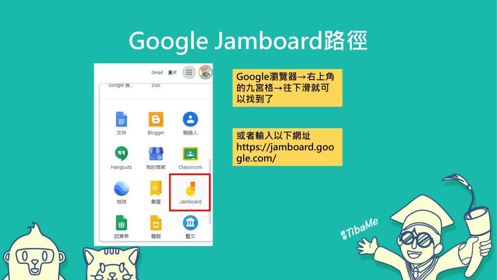 Google Jamboard路徑